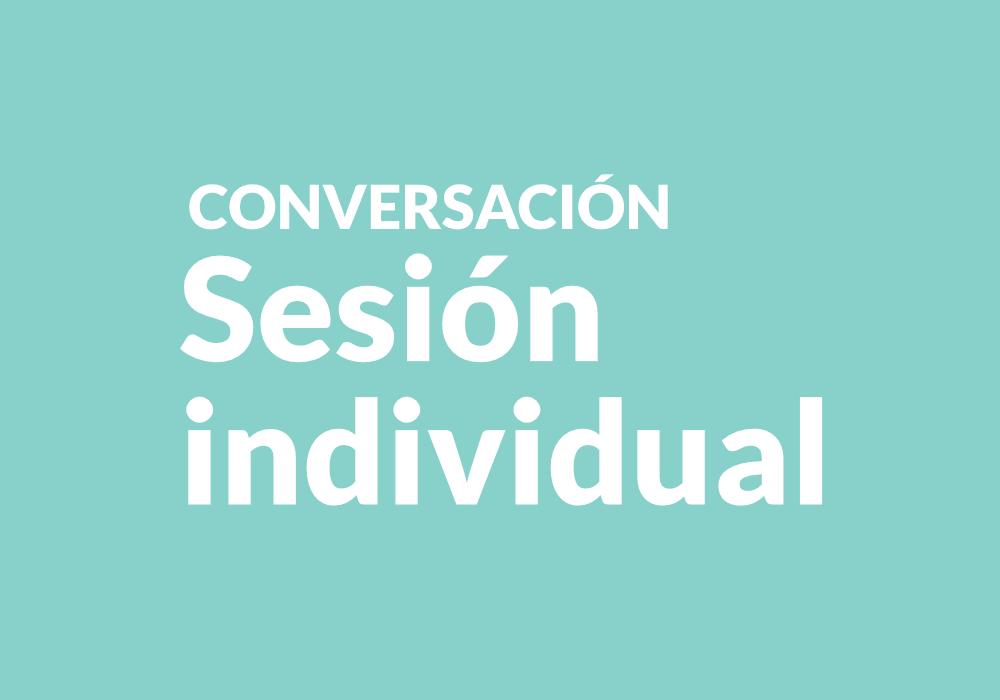 expresión sesión individual